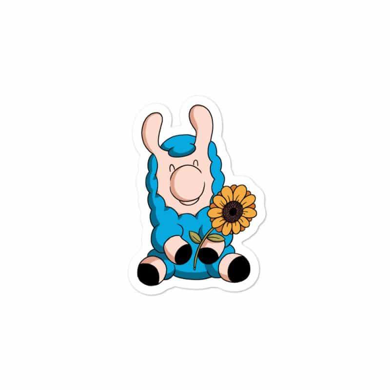Sunflower – Bubble-free Sticker(3″X 3″)